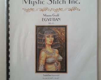 Egyptian cross-stitch booklet