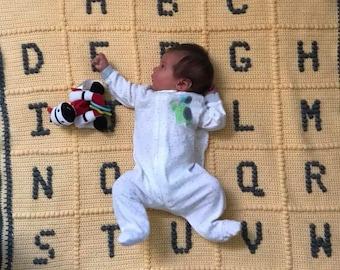 Alphabet Blanket - Any Language