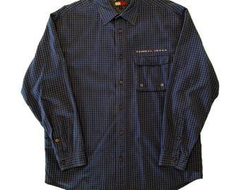 Classic OG Vintage Tommy Hilfiger Jeans Button Down Spellout