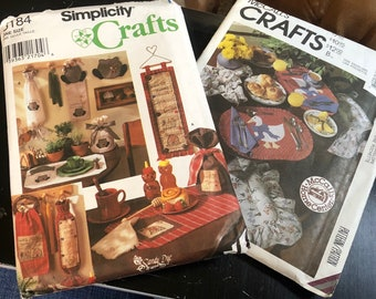 Sewing Patterns - Craft Patterns - country Craft Patterns  - Placemat Patterns