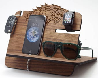 Docking Station / game of thrones / winter is coming / got / stark / game of thrones gift / got gift / game of thrones / got fans