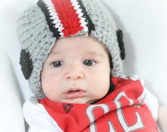 Football Helmet Baby Hat