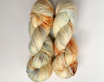 Tin shed - hand-dyed 4ply sock yarn - 100g