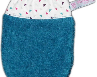 Kids washcloth twin (age 3) - Child's washcloth - Baby washcloth