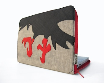Laptop Case - Custom Size - The Crow