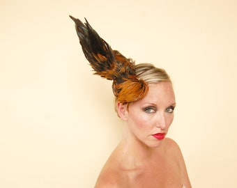 Taxidermy Rooster Fascinator