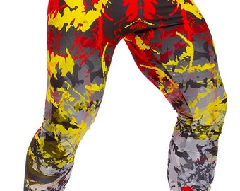 Legcode men Leggings ''Burning Graffiti''