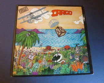 Sale ! Men At Work Cargo Vinyl Record LP QC 38660 Columbia Records 1982
