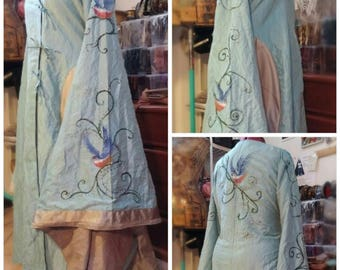 MADE TO ORDER Cersei Lannister Blue dress inspired replica Game of Thrones Cersei robe