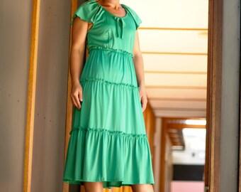 Vintage Womans retro party dress