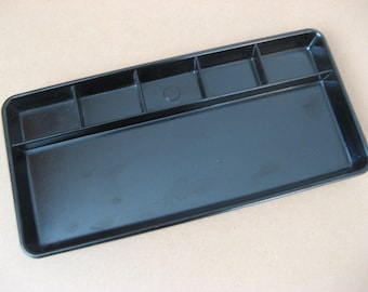 Bakelite pen tray;  Corodex  Ronia, vintage fifties, black