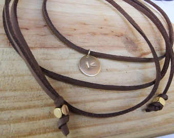 The One Less Campaign-  Leather Wrap with Charm