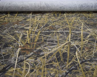 "Next EVOS 7oz. Cotton / Poly Twill Camouglage Fabric 59"" Wide By The Yard 36"" Long Duck Waterfowl hunting Camo"