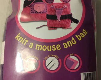 Knit a Mouse and Bag Kit
