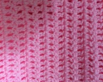 Pink Afghan