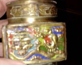 Vintage Cloisonne Jar