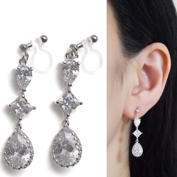 badgley jewellery clip as pearl flower earrings by on mischka earring
