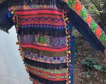 Bohemian Denim Jacket