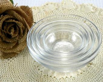 Vintage Duraflex Ramekins Nesting Bowls Set of 4