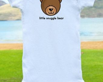 Little Snuggle Bear Onesie