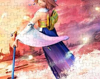 Final Fantasy X 10 Yuna A4 Puzzle - 120 Pieces