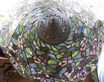 "Tiffany Lamp 20""w x 28""h"