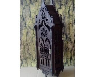 Gothic shelf ,cupboard, medieval inspiration, the oriel window, medieval furniture