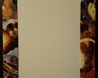 Avengers/Iron Man/Thanos Handmade Custom Wrapped 11x14 Mat Fits 8x10 photo