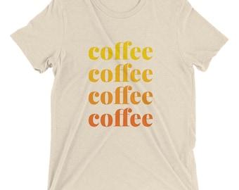 Coffee Lover Gift - Coffee Shirt - Coffee Tee Women - Coffee Tee Men - Coffee Tee Shirt - Morning Coffee - Gift for Barista - Barista Shirt