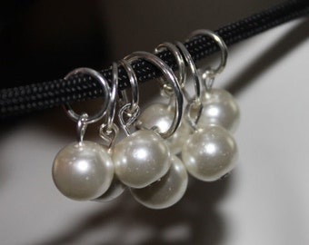 White Pearl Necklace, White Beaded Necklace, White Pearl Jewelry, White Beaded Jewelry, Beaded Jewelry, Pearl Jewelry, White Beads, Pearls