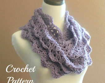 Knitting Scarf Patterns Infinity Scarf : Circle scarf etsy