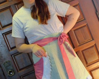 SALE  Reversible Half Apron