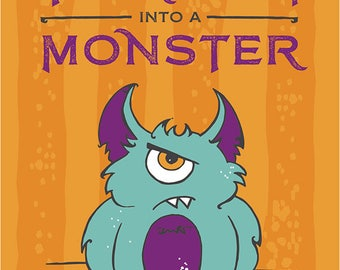 How To Turn Your Mom Into A Monster \\ children's picture book \\ Monster Book \\ Monster Party