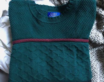 Vintage Pendleton Sweater • Size S/M
