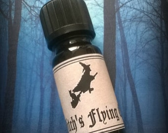 Witch's flying oil ointment, Wiccan, hedge witch, astral, pagan ritual