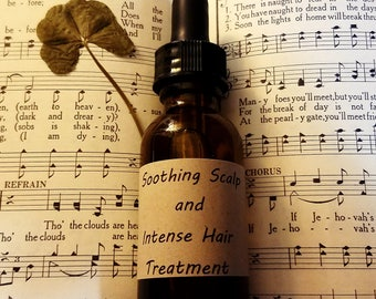 Soothing Scalp and Intense Hair Treatment