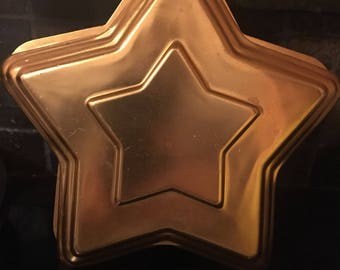 Copper Star Jello Mold