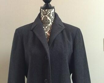 90s Anne Klein Full Length Trench Coat