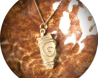 Maine Sea Glass Pendant