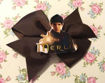 Merlin wizard hair clip