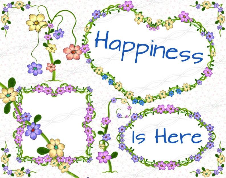 Descarga inmediata png flor marco gráfico laurel guirnalda floración ...