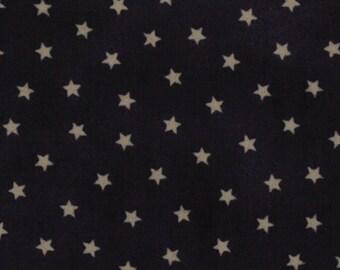 Moda OLD GLORY Gatherings Dark Blue Star Patriotic Primitive Gatherings Fabric 1074-25