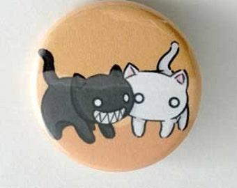 Azumanga Daioh / Gaia Kitty Button