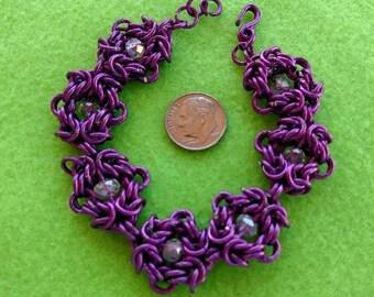 Romanov Weave Chainmaille Bracelet