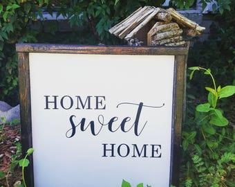 Home Sweet Home LARGE sign