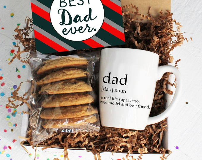 Best Dad Ever Gift Box | Father's Day Gift | Gift for Dad | Mug Gift | Send Cookies | Father's Day Card