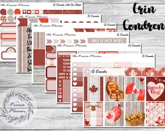 O Canada - Weekly Kit / A La Carte - ERIN CONDREN