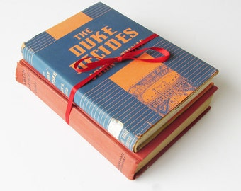"Two Vintage John R. Tunis 1930s Young Adult Sports Books - ""The Duke Decides"" and ""Iron Duke"""