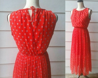 Sweetheart Dress || Valentine's Day || Extra Small-Small
