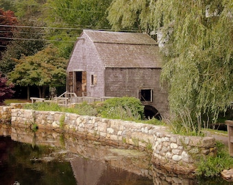 Old Stone Mill, Sandwich Village, Cape Cod